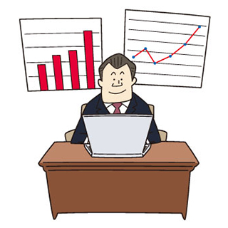 TKCシステムの利用を通して、毎月、現状を分析し、打ち手を提案します